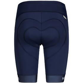 Maloja MinorM. 1/2 Chamois Bike Shorts Women, azul